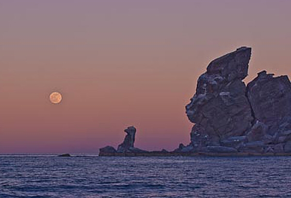 Isla Coronado Moonrise